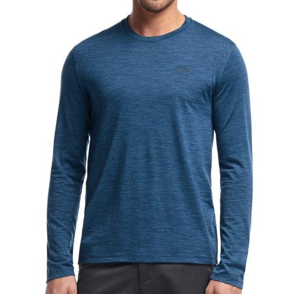 Icebreaker 150 Tech T-Lite Shirt - UPF 30 , Merino Wool, Long Sleeve (For Men)