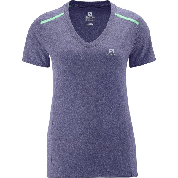 Salomon Park T-shirt - Upf 50 , Short Sleeve (for Women)