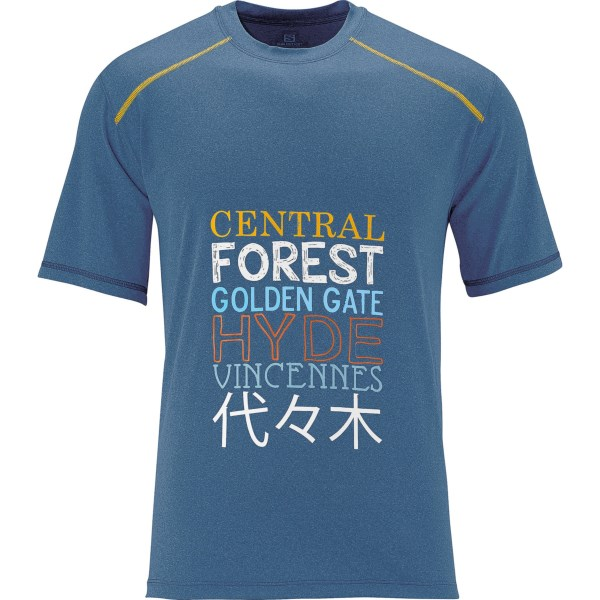 Salomon Park T-shirt - Upf 50 , Short Sleeve (for Men)
