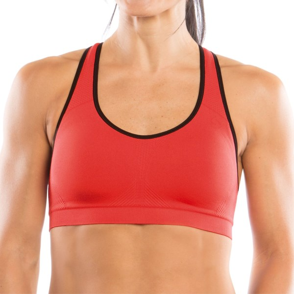 Moving Comfort Just Right Racer Sports Bra (For Women)