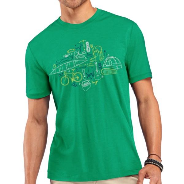 Icebreaker Tech Lite All in a Day Shirt - UPF 30, Merino Wool, Short Sleeve (For Men)