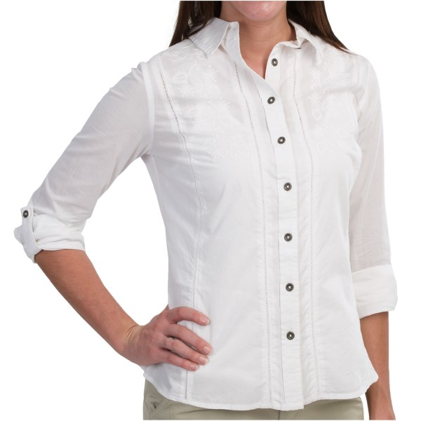 Aventura Clothing Memphis Shirt - Organic Cotton, Long Sleeve (for Women)