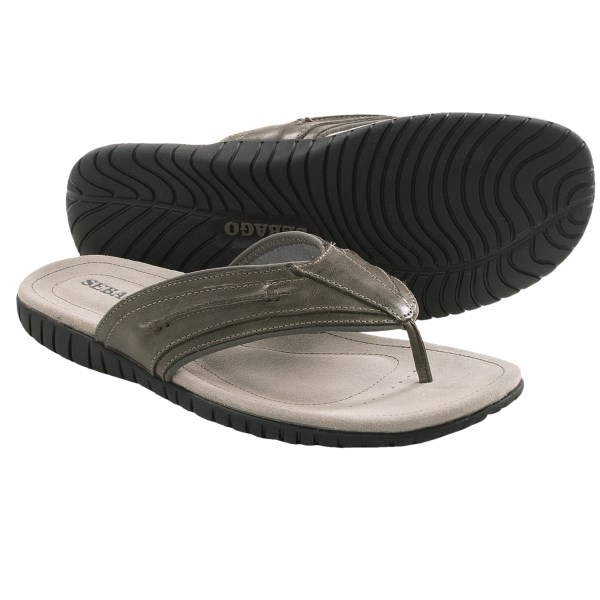 Sebago Becket Flip-Flop Sandals - Leather (For Men)