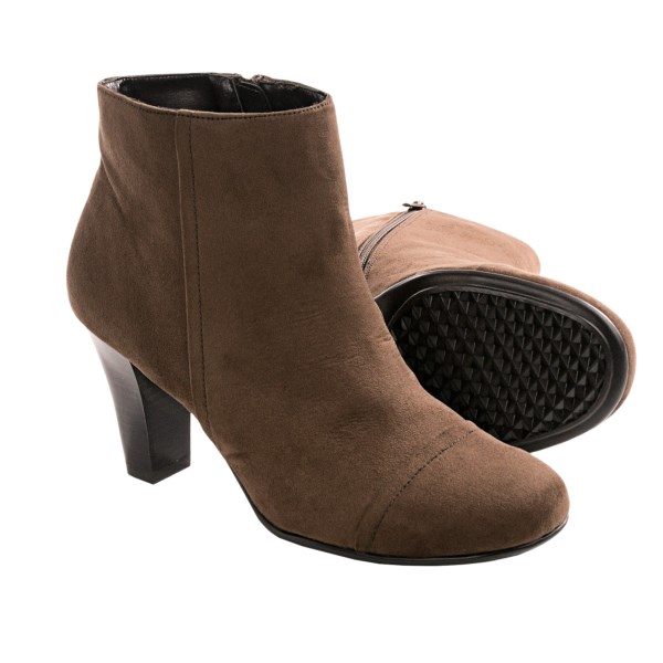 Aerosoles Scrole Book Ankle Boots - Side Zip (for Women)