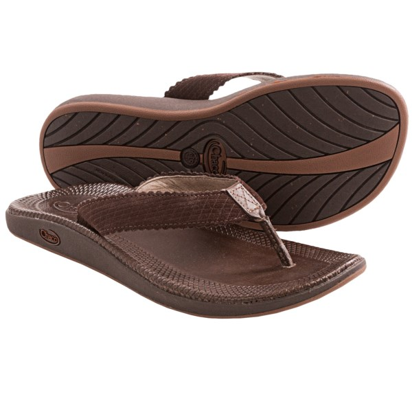 CLOSEOUTS . Exercise your freedom to stay comfortable in Chacoand#39;s Liberty sandal. The elegant full-grain leather upper with a LUVSEAT footbed delivers eye-catching style at the beach or around town. Available Colors: CHOCOLATE BROWN, INCENSE, RAVEN. Sizes: 5, 6, 7, 8, 9, 10, 11.