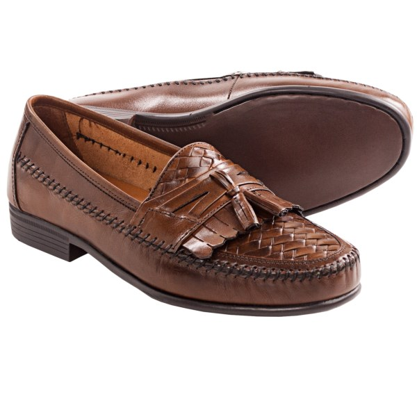 Hush Puppies San Remo III Loafers - Leather, Slip-Ons (For Men)