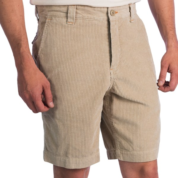 True Grit Canyon Corduroy Shorts - Vintage Wash (For Men)