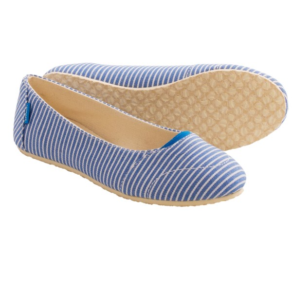 The People?s Movement Grace Ballet Flats - Canvas (For Women)