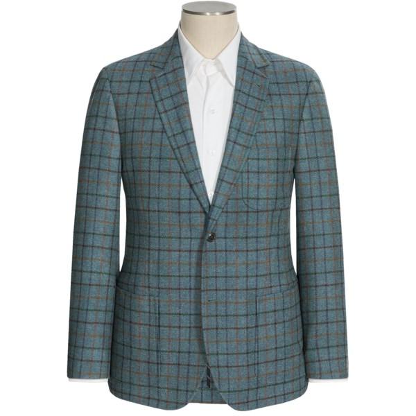 Flynt Blaine Windowpane Sport Coat - Wool-cashmere (for Men)