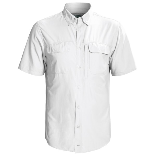 Woolrich Cross Country II Tech Shirt - Short Sleeve (For Men)
