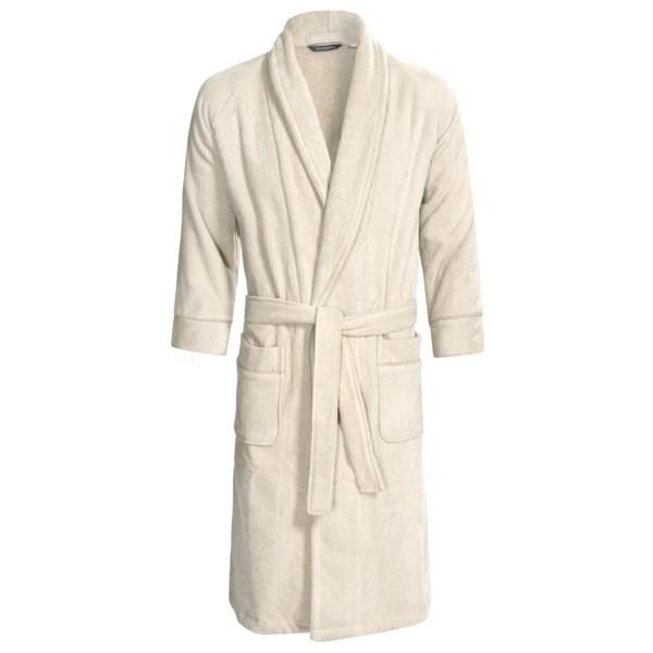 Christy Renaissance Luxury Egyptian Cotton Robe - Long Sleeve (For Men and Women)