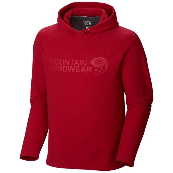 Mountain Hardwear Microchill Pullover Hoodie - UPF 50, Fleece (For Men)