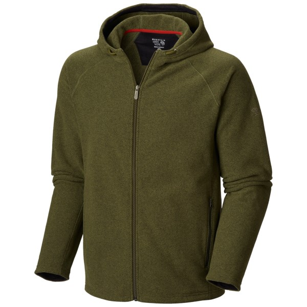 CLOSEOUTS . Life just got more awesome with Mountain Hardwearand#39;s Toasty Twill fleece hoodie. Itand#39;s made of moisture-wicking, quick-drying polyester fleece to keep you warm, and the twill finish adds an eye-catching texture taking it a step above all of those other hoodies. The front zip pockets secure your items, and the UPF 50 sun protection is an added bonus! Available Colors: REDWOOD, COLLEGIATE NAVY, UTILITY GREEN. Sizes: S, M, L, XL, 2XL.