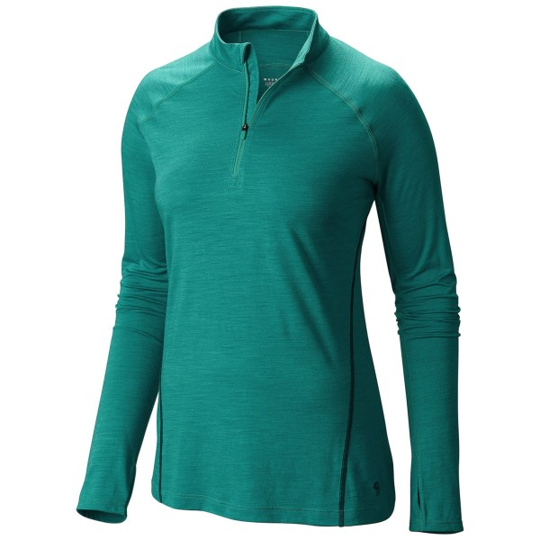 Mountain Hardwear Integral Pro Shirt - Merino Wool, Zip Neck, Long Sleeve (For Women)