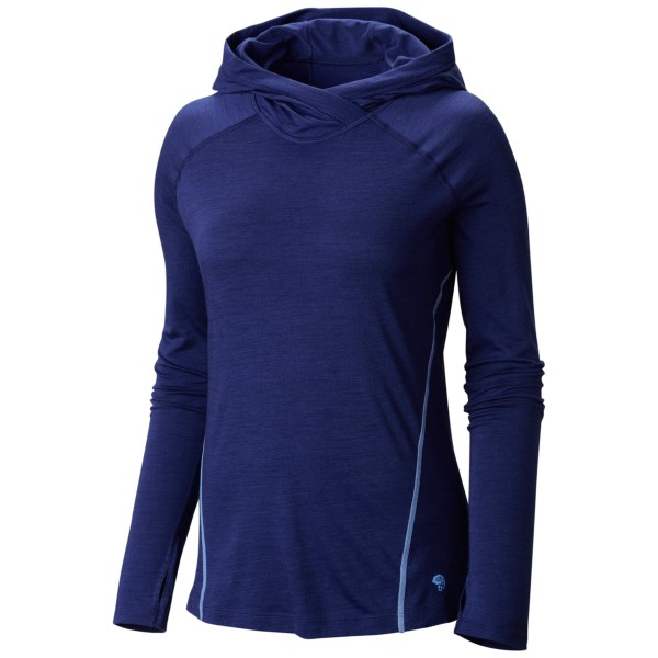 Mountain Hardwear Integral Pro Hooded Shirt - Merino Wool, Long Sleeve (For Women)