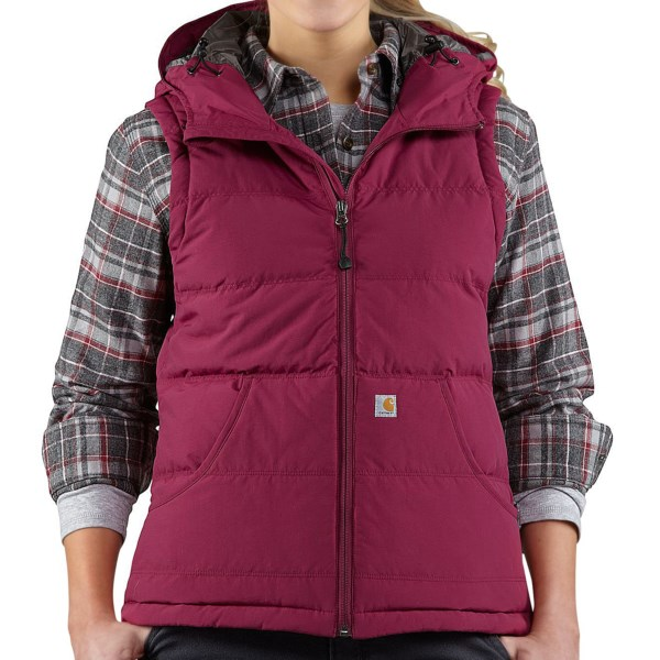 Carhartt Portland Down Vest (For Women)
