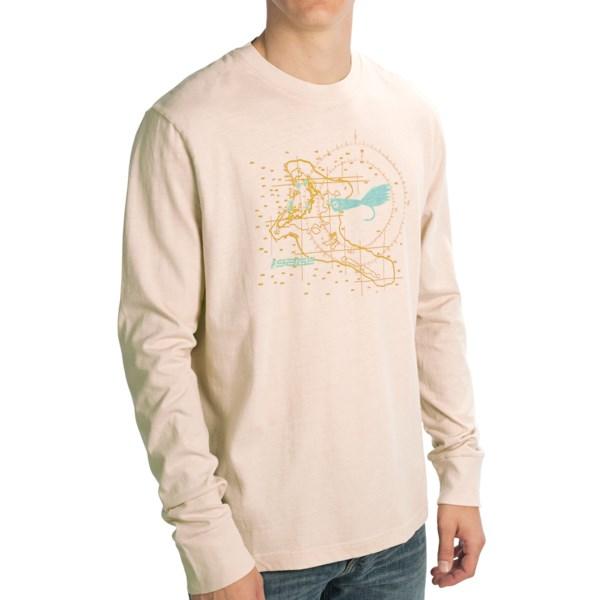 Sage Christmas Island T-Shirt - Long Sleeve (For Men)