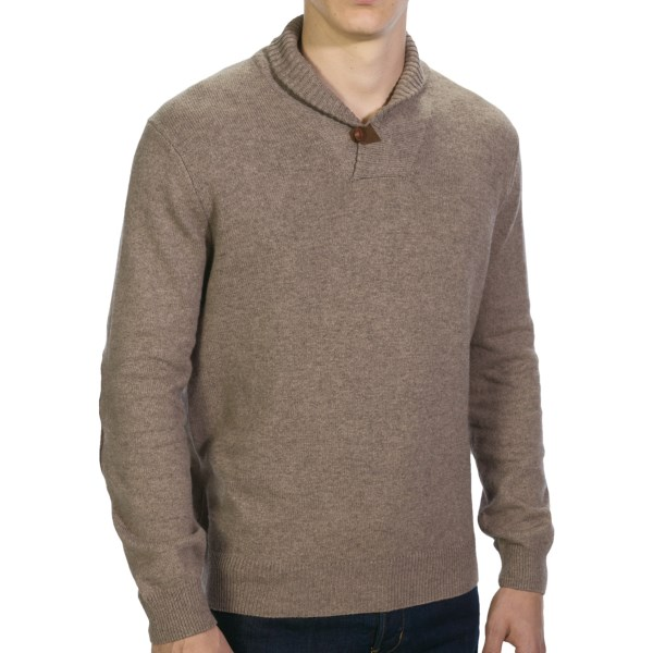 Viyella Shawl Collar Sweater (For Men)
