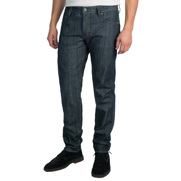CLOSEOUTS . Clean-cut, tapered-leg classics, G-STAR RAWand#39;s 3301 Low Tapered RL jeans embody the brandand#39;s commitment to creating quality andquot;foundationandquot; denim. Especially ideal for warm weather, theyand#39;re crafted from the brandand#39;s vintage-shuttle-loomed Red Listing selvedge denim in a comfortable summer weight. Available Colors: 001 RAW.
