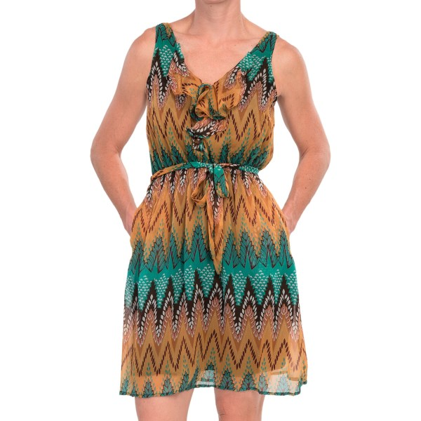 Scully Ruffle Front Dress - Sleeveless (for Women)