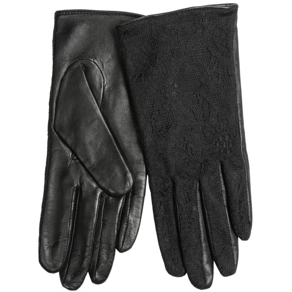 CLOSEOUTS . Lightweight and insulating, the Fownes Brothers glove features a leather palm and subtle textured pattern on the back of the hand for just the right amount of cold-weather style. Available Colors: BLACK. Sizes: 7, 7.5, 8.