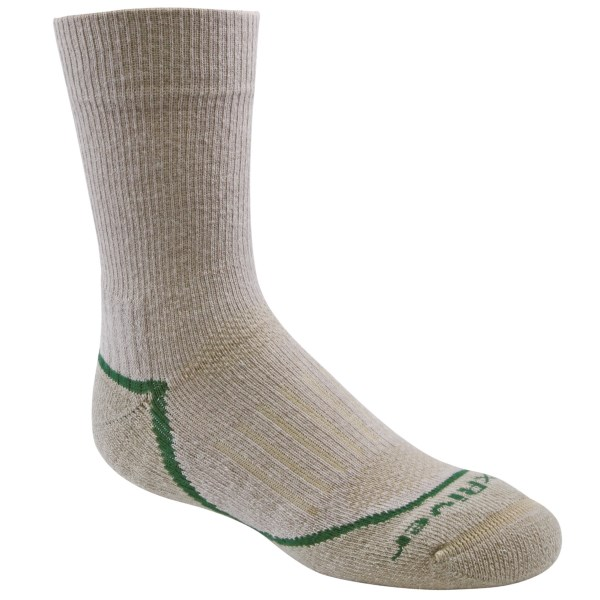 CLOSEOUTS . Featuring a durable, adaptive AXT (Adventure Cross Terrain) design and a powerful blend of temperature-regulating merino wool and soft, shape-retaining nylon, Fox Riverand#39;s Trail Jr. socks turn every kid into a backwoods professional. Available Colors: TRAIL. Sizes: XS, S.