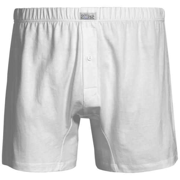 2(x)ist Pima Cotton Boxers (For Men)