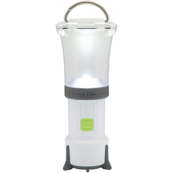 CLOSEOUTS . Black Diamond Equipmentand#39;s Orbit LED lantern provides lots of illumination in a lightweight package, with a dimming switch, a flashlight bulb and a collapsible, double-hook hang loop. Available Colors: MATTE BLACK, PROCESS BLUE, ULTRA WHITE.