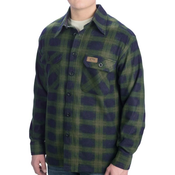 10,000 Feet Above Sea Level Shirt Jacket (For Men)