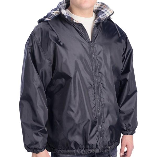 10,000 Feet Above Sea Level Polar Fleece Jacket Plaid Lined (For Men)