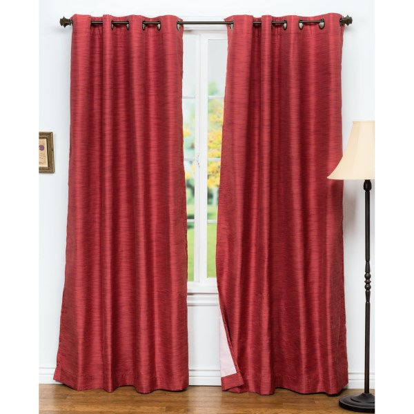 United Curtain Co. Brighton Curtains - 108x84?, Grommet Top