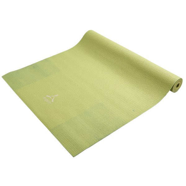 CLOSEOUTS . Find your inner andquot;Omandquot; on Aspireand#39;s 3mm yoga mat. Featuring durable PVC material, this mat cushions and provides comfort, and the textured, non-slip surface lets you move confidently through all of your poses. Available Colors: OLIVE TWIST, LAVENDER MIST, ROBINS EGG BLUE.