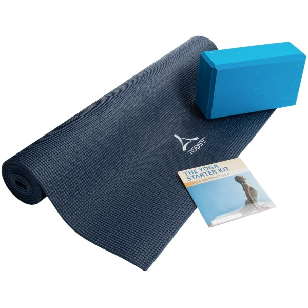 Gaiam Living Arts Yoga Starter Kit - 3-Piece