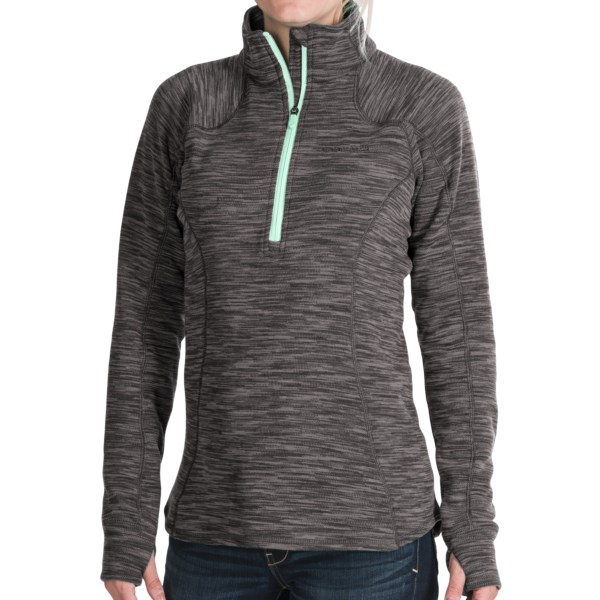 Avalanche Wear Tectonic Pullover Shirt - Zip Neck, Long Sleeve (For Women)