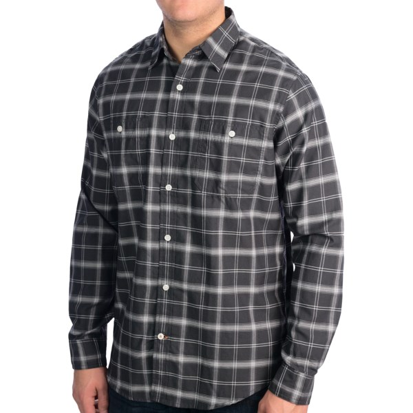 Dockers Plaid Twill Shirt - Long Sleeve (For Men)