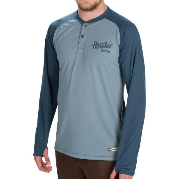 Howler Brothers Loggerhead Henley Shirt - Long Sleeve (for Men)