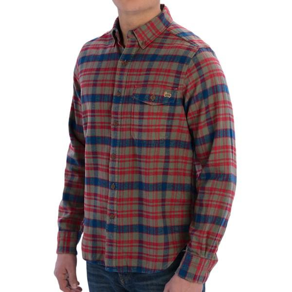 Woolrich Rich Flannel Shirt - Long Sleeve (For Men)