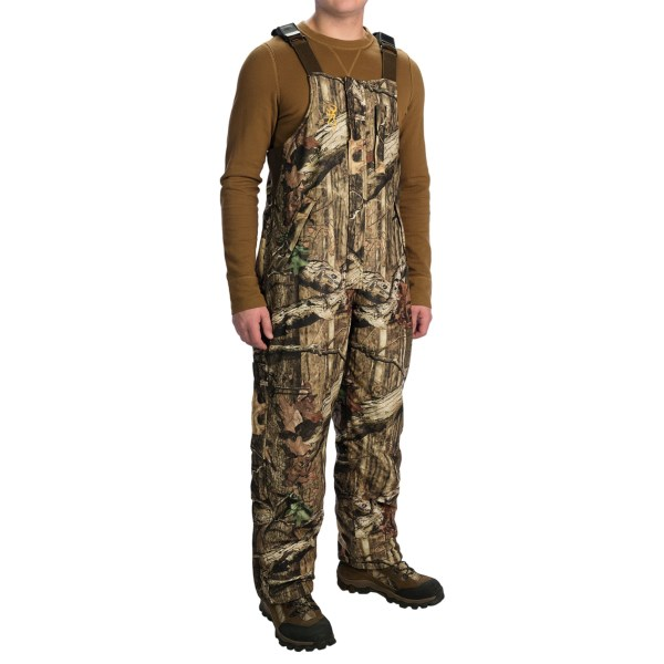 Browning Wasatch Bib Overalls - Insulated (For Men)