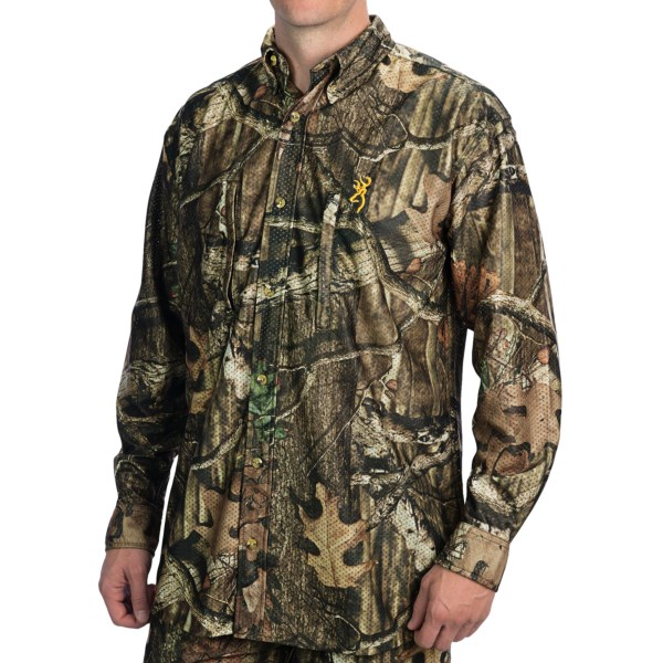 Browning Wasatch Mesh Lite Shirt - Long Sleeve (For Men)