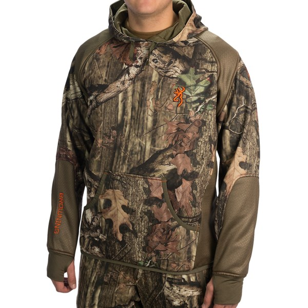 Browning Hells Canyon High-Performance Fleece Hoodie (For Men)