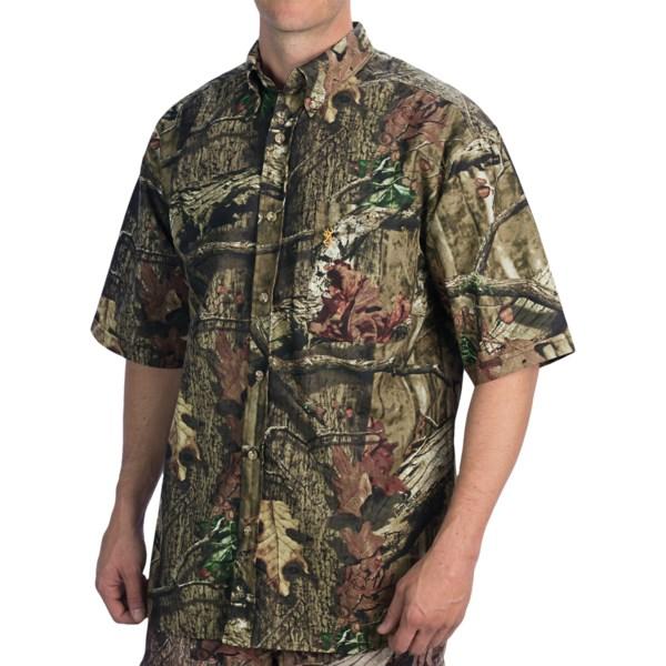 Browning Wasatch Lite Shirt - Short Sleeve (For Men)