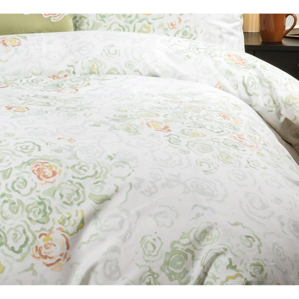 CLOSEOUTS . Fill your boudoir with bouquets! Barbara Barryand#39;s Bouquet Collection King duvet cover shows off some of the prettiest, via its elegant, watercolor-inspired floral print. Available Colors: SPRINGTIME. Sizes: KING.