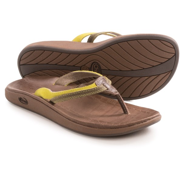 CLOSEOUTS . Chacoand#39;s Harper sandal delivers style and comfort in an elegant, eye-catching package. The full-grain leather upper features subtle stitching detail, and the LUVSEAT footbed keeps your feet feeling good whether youand#39;re window shopping or strolling on the beach. Available Colors: RAVEN, CELERY, CHOCOLATE BROWN. Sizes: 5, 6, 7, 8, 9, 10, 11.
