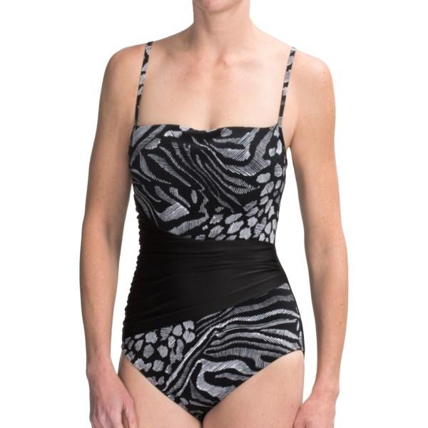 Magicsuit by Miraclesuit Composition Stevie Swimsuit - Underwire (For Women)