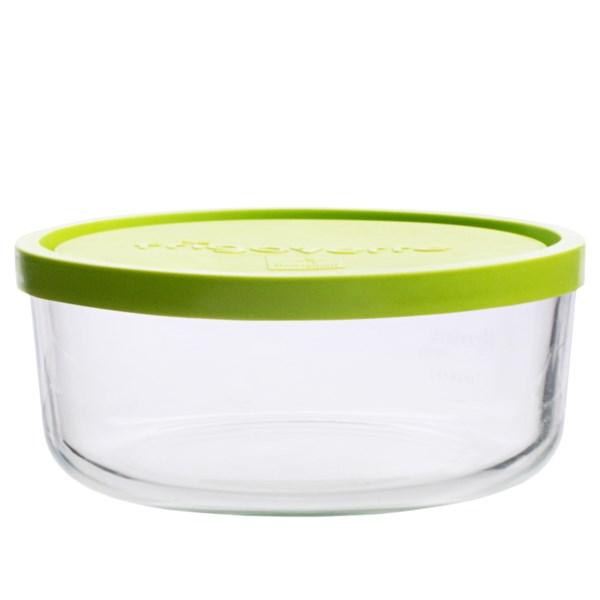Bormioli Rocco Round Glass Food Container - 22 Oz.