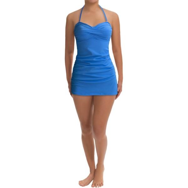 Anne Cole Criss-Cross Swimdress Swimsuit (For Women)