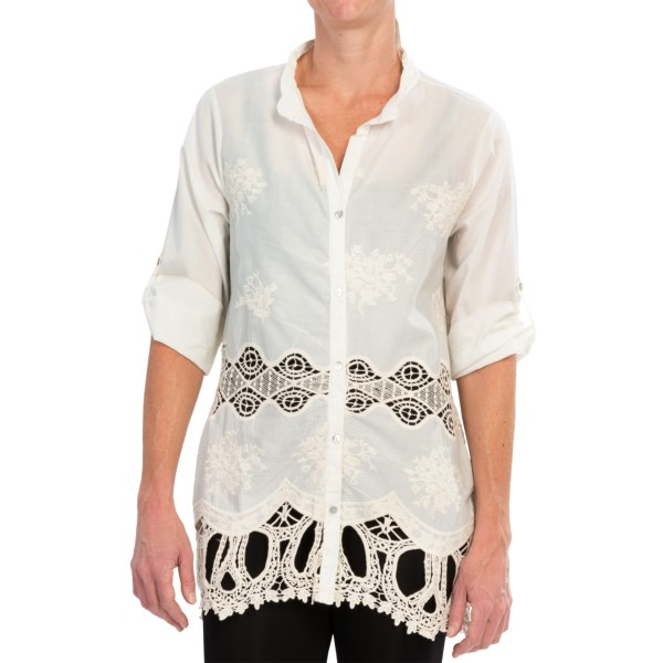 dylan Nomad Shirt - 3/4 Sleeve (For Women)