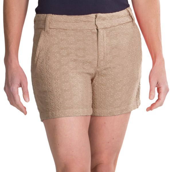 dylan Floral Crochet Shorts (For Women)