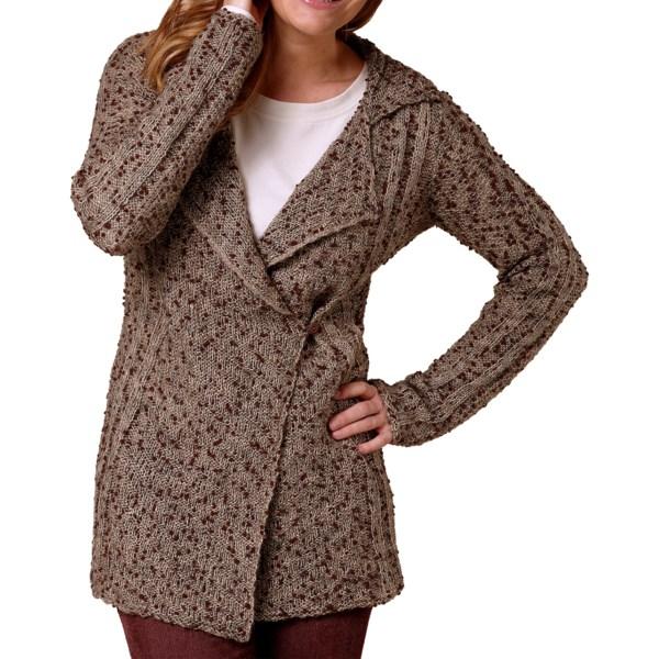 Royal Robbins Poppy Popcorn Yarn Cardigan Sweater (For Women)