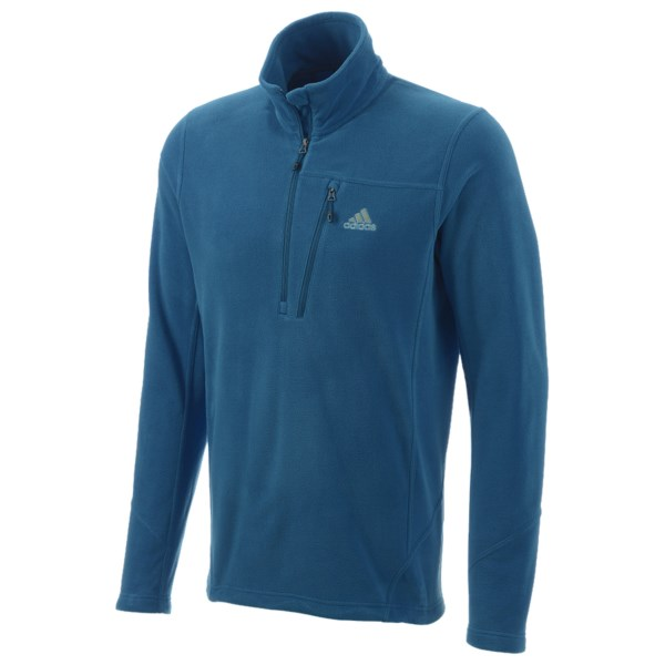 Adidas Hiking Reachout Fleece Pullover - Zip Neck, Long Sleeve (For Men)